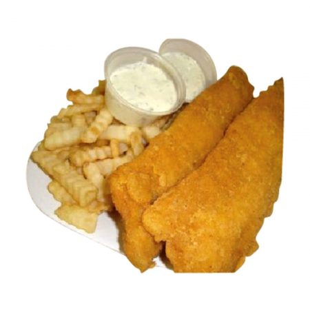 Whiting with Fries